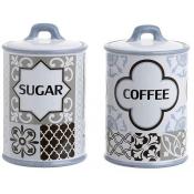 Βάζα καφέ-ζάχαρης