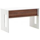 Γραφείο ξύλινο 120x60 καφέ/λευκό Click 6-50-962-0002
