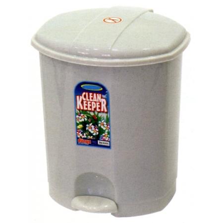 Κάδος απορριμμάτων πλαστικός γρανίτης 11Lt Dunya ΚΠΕ20200-00
